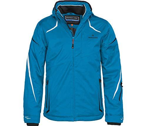 Bergson Herren Skijacke Valley, Methyl Blue [349], 46 - Herren