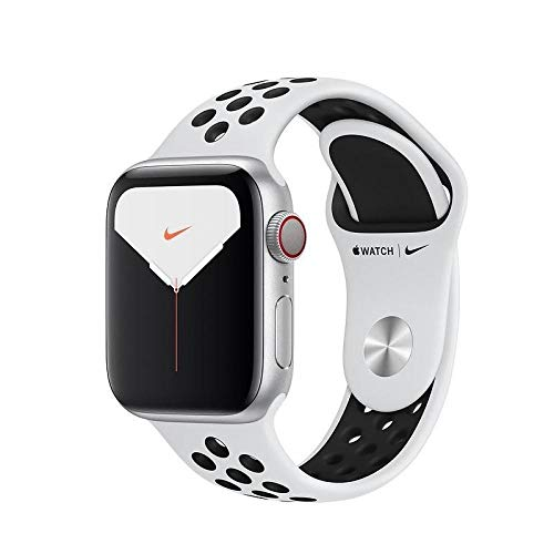Apple Watch Series 5 Nike+ GPS 40mm Silver Platinum/Black