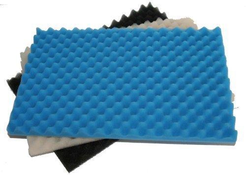 Fish Pond 3 Piece Foam Filter Sponge Set - 17' x 11'