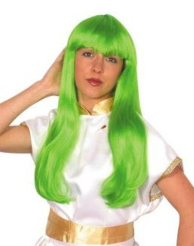 Famous Lady perruque   Cher Lime Green