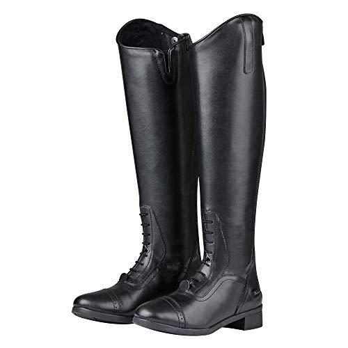Saxon - Botas de equitación de caña Alta Modelo Syntovia para Mujer
