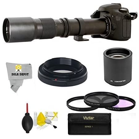 Telephoto 500 1000 MM for Nikon D3300 D3200 D3100 D3000 D7200 ...