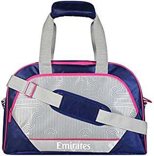 Activate sports bag with Cosmopolitan print, navy &pink