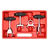 WINMAX TOOLS AUTOMOTIVE Compatible for 4pc Ignition Coil Remover Tool Set for Volkswagen VW Audi Spark Plug Puller