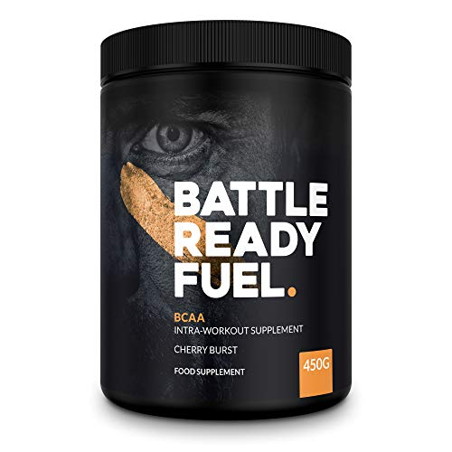 Battle Ready Fuel BCAA Intra-Workout Powder Nutritional Supplement (420g) — Cherry Burst Flavor