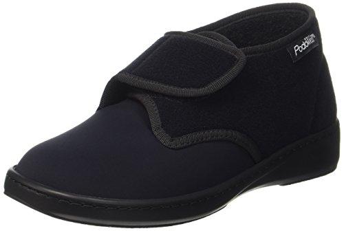 PodoWell Unisex-Erwachsene Aladin Sneaker, Schwarz (Schwarz 7108010), 42 EU