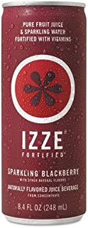 IZZE - Fortified Sparkling Juice, Blackberry, 8.4 oz Can, 24/Carton 15023 (DMi CT
