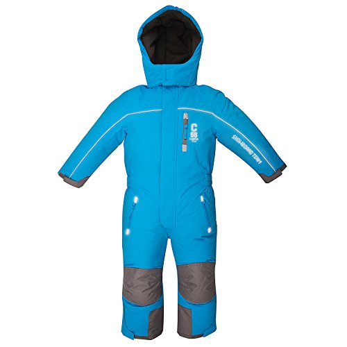 Outburst Kinder Ski Overall Royal Blau Größe 116 wasserdicht atmungsaktiv - Schneeanzug