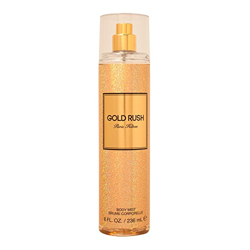 Paris Hilton Rush for Women Body Spray, Gold, 236 ml