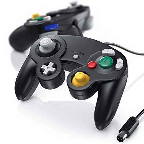 CSL - Nintendo Wii U Wii GameCube Gamepad Controller - Vibrationseffekt - 2er Set