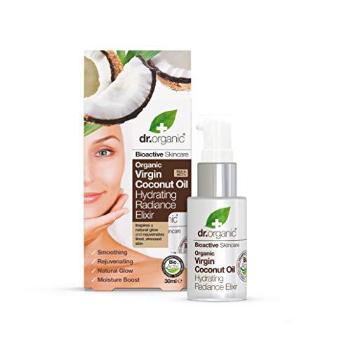 Dr. Organic Elixir de Sérum Hydratant à l'Huile de Noix de Coco Bio 30 ml