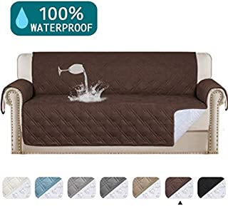 Waterproof Sofa Cover Protector for Living Room Deluxe Couch Cover Perfect for Leather Couch Sofa Protector Features Protect from Pets Wear and Tear (Oversize Sofa 78