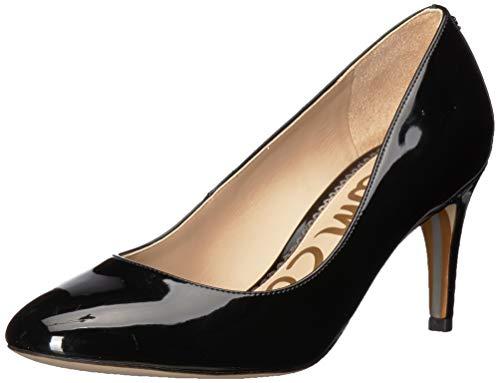 Sam Edelman Women's Elise Pump, Black Patent, 5 M US