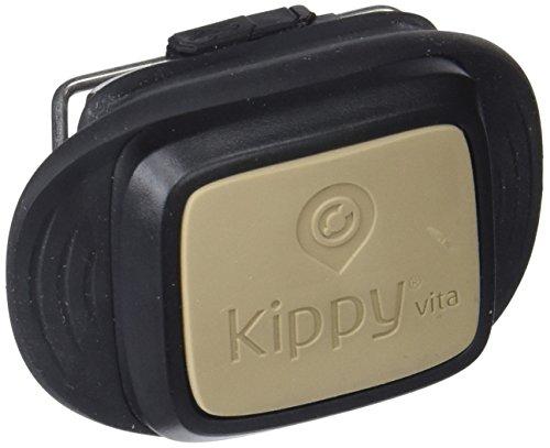 V-Pet by Vodafone Kippy Vita - Localizador GPS para Perros, Gatos, Mascotas Conectado con Smartphone por 4G SIM Incluida (áreas de seguridad, alertas de movimiento, información de actividad diaria, consejos de salud)