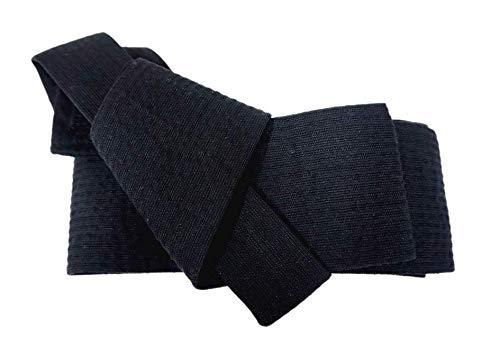 [ショップエスト]浴衣角帯2点セットワンタッチ角帯ストライプ柄着物メンズ(M,B柄)