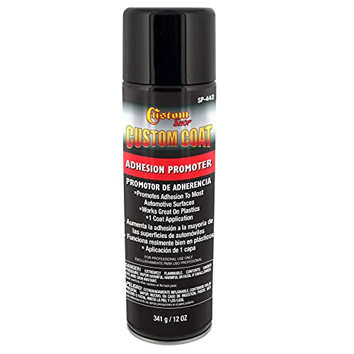 Custom Coat Adhesion Promoter - 12 Ounce Spray Can - Use on Hard to Sand Areas and Before applying...