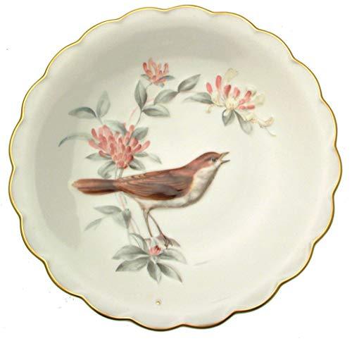 Royal Worcester Les Oiseaux de Dorothy Doughty Nightingale et chèvrefeuille Assiette à Dessert – Le de 7500 pièces CP1403 Uniquement
