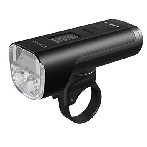 Tidusky OLIGHT ALLTY 2000 - Luz para bicicleta superbrillante de 2000 lúmenes, LED IPX5, impermeable, multifuncional recargable, USB, luz para bicicleta, con caja de batería