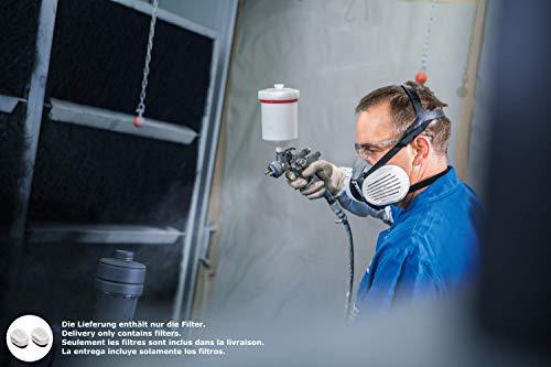 Dräger X-plore Bajonett Kombinations-Filter A2 P3 für Gase und Partikel   7 Paar   Ersatzfilter für Voll- und Halbmasken X-plore 3300, 3500 und 5500 - 5