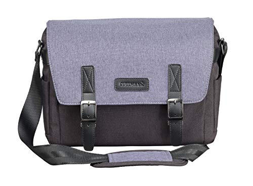 Cullmann Bristol Maxima 333+ Kameratasche im Messenger-Stil mit Tablet-Fach, Farbe blau