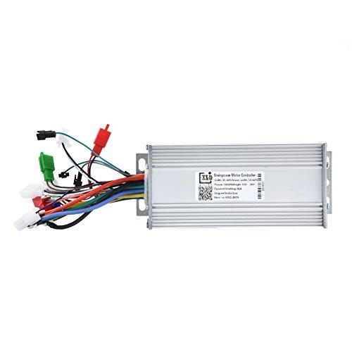 Dilwe Controlador Sin Escobillas 36V / 48V 1000W Regulador Eléctrico de la...