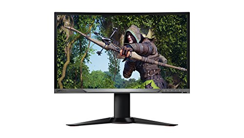 Lenovo Curved Monitor Curved monitor. 27 inch FHD zwart