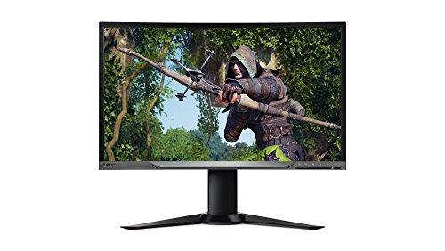 """Lenovo Y27g - Monitor Curvado de 27"""" (Full HD, 1920 x 1080 Pixeles, Tiempo de Respuesta de 4 ms, HDMI, USB 3.0, 3000:1) Color Negro"""