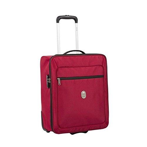 Delsey-Valigia visto cabina morbida 2 ruote easy fly 50 cm, colore: rosso