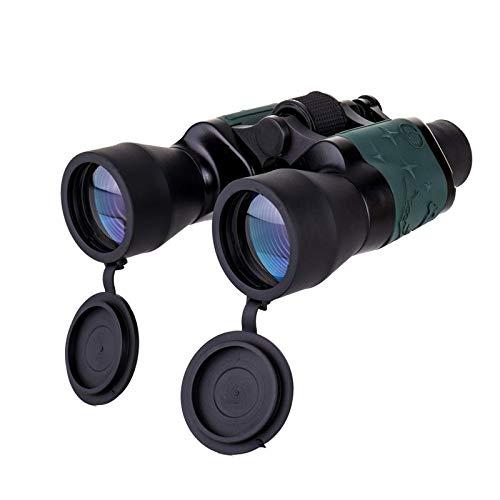 Yhjkvl Prismáticos de 3000 m, resistentes al agua, alta potencia, visión nocturna, telescopios, telescopio, telescopio, binoculos, 60 x 60, telescopio binoculares (tamaño: 18 x 16 x 3 cm; color: #1)