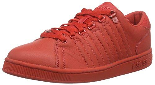 K-Swiss Herren Lozan III Monochrome Sneakers, Rot Aurora Red Aurora Red, 44.5 EU