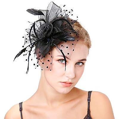 Fascinators Hat for Women Tea Party Headwear Derby Cocktail Bridal Top Hats