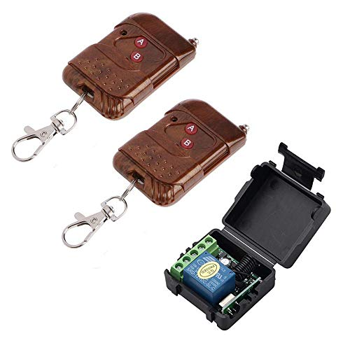 NAVKAR SYSTEMS Remote Receiver with 2 Remotes for Electronic or EM Door Lock