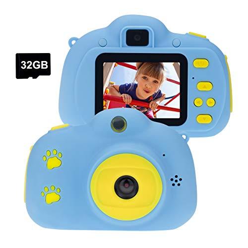 Cocopa Kids Camera for Boys, Digital Cameras for Kids 32 GB SD Card Video...