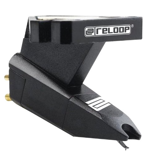 Reloop Turntable Stylus Cartridge with Headshell Mounting