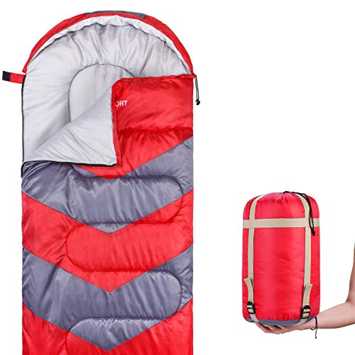 Abco Tech Sleeping Bag – Envelope Lightweight...