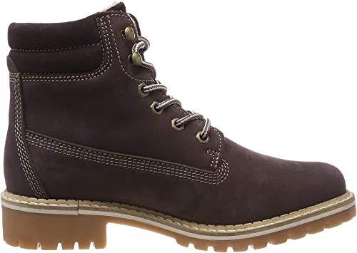 Tamaris Damen 25242-21 Combat Boots, Violett (Plum 566), 39 EU