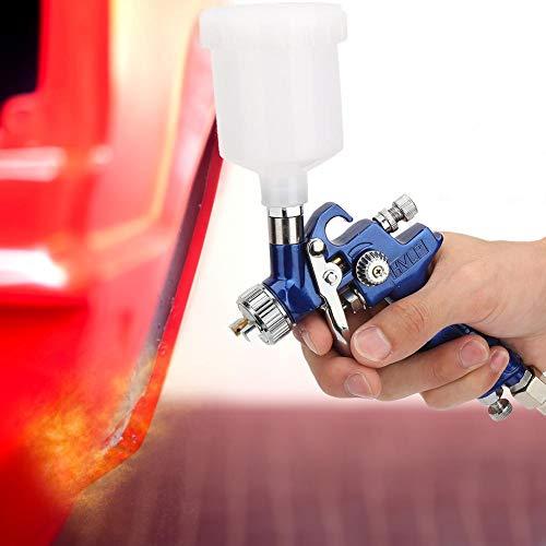 Auto Spray Machine, Gravity Airbrushes Auto Spray Machine Olieverf Pneumatische Airbrushes Europese Type Connector (1.0mm)