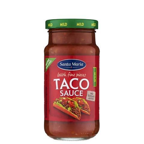 Santa Maria Taco Salsa Tex Mex leve, 230 g