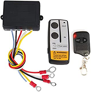 Wireless Winch Remote Control Kit for Truck Jeep ATV SUV 12V Switch Handset