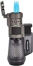 Vertigo by Lotus Cyclone Triple Torch Cigar Lighter Charcoal 2 Pack