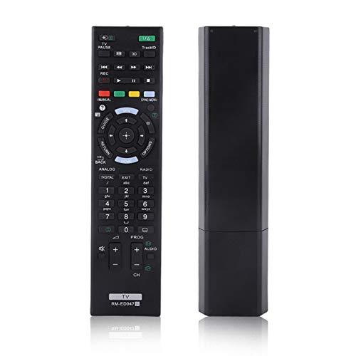 Guoshiy Control Remoto para Sony, Control Remoto de tamaño Compacto, Control Remoto de TV Universal de Rendimiento Estable, Moderno para la Oficina en casa