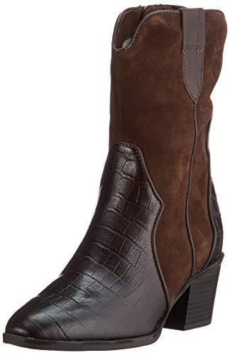 Caprice Damen 9-9-25700-25 329 Cowboy Stiefel, DK BROWN COMB, 39 EU