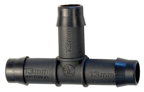 Lot de 5 raccords en T 13 mm pour systèmes d'irrigation basse pression