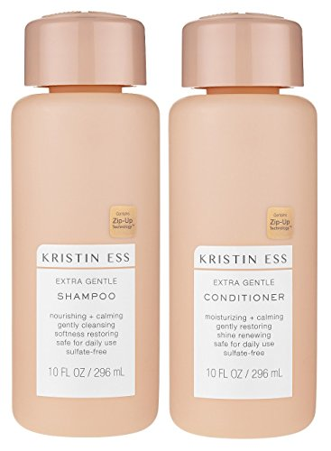 Kristin Ess Extra Gentle Shampoo & Conditioner Set, 10 Oz each