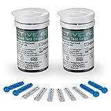 HARPIMER Glucosa en Sangre Kit Tiras de Prueba 50 Piezas de Monitor de azúcar en Sangre...