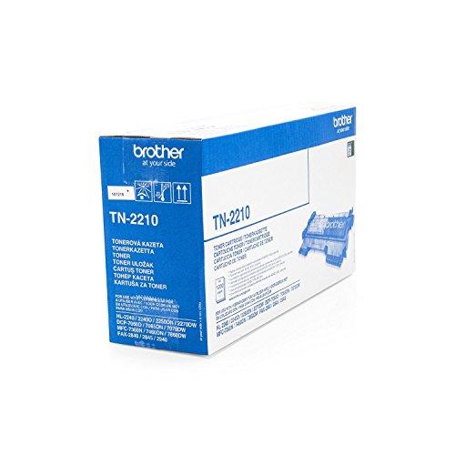 Brother Original TN-2210 /, für MFC-7360 Ne Premium Drucker-Kartusche, Schwarz, 1200 Seiten
