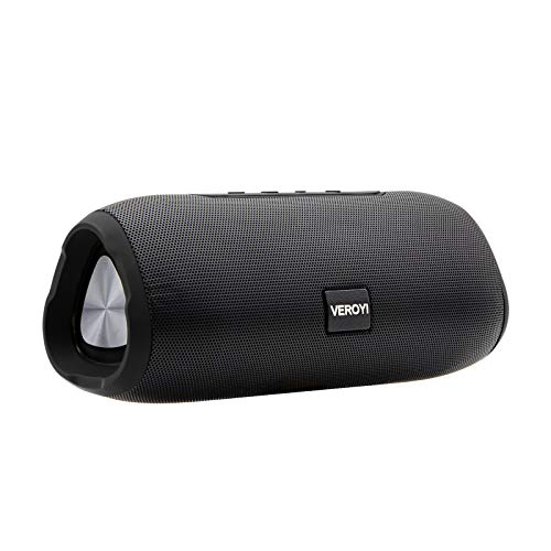 Veroyi Altavoces portátiles Bluetooth, TWS Wireless Bluetooth 5 Speaker, Emparejamiento estéreo inalámbrico para teléfonos Inteligentes, tabletas