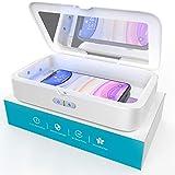 Sterilizzatore UV, Newild Disinfettante per Cellulare 1 Pro, 2a Generazione Non Mercurio UV, LED con Funzione Di Aromaterapia, Portatile Disinfettante per Telefoni Cellulari, Chiavi e Orologi