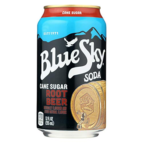 Blue Sky, Soda, Root Beer, Pack of 4, Size - 6/12 OZ, Quantity - 1 Case