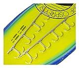 La Caja de Accesorios Pesca en Rack de Techo de Rod Caña de Pescar en Bastidor Organizador del almacenaje Cabina Garaje 8-Rod alimentador de Pesca
